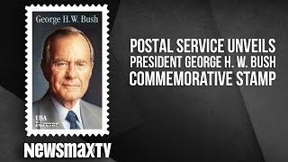 Postal Service Unveils President George H.W. Bush Commemorative Stamp