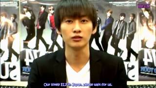 [ENG] Eunhyuk Comment for SS4 Japan DVD