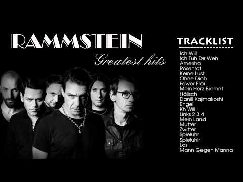 Rammstein Greatest Hits Playlist  Rammstein Collection All Time Music Favorite