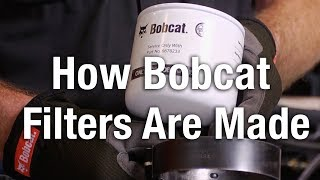 Video still for How Filters Are Made For Bobcat Machines