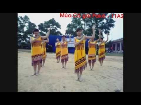 [Trường THPT Sáng Sơn] - Múa cô gái Pakô - 11A2 - 26/03