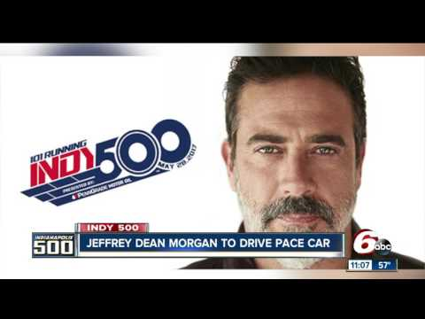 Actor Jeffrey Dean Morgan will drive 2017 Indy 500 Pace Car