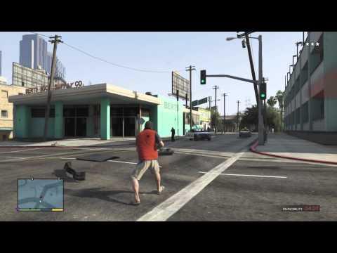 GTA 5 Invincibility Cheat Demo