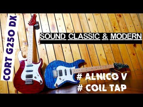 Gitar Cort G250 DX | Strato sound Classic & Modern Mp3