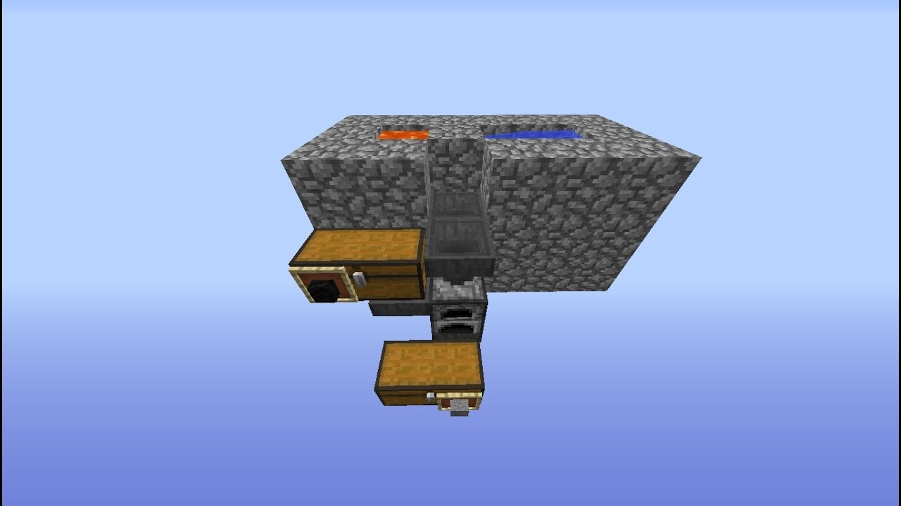 how to build with smooth stone minecraft