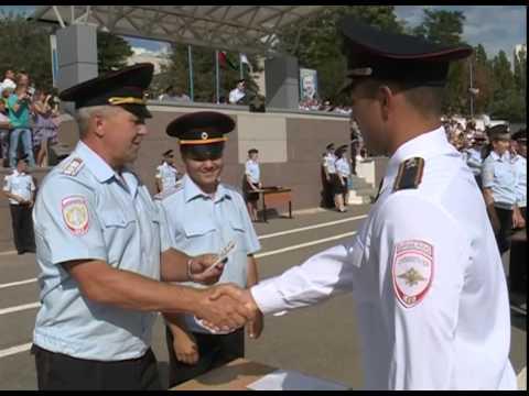 Вручение погон молодым офицерам