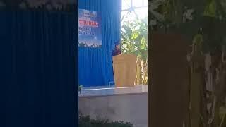 Bài phát biểu Nguyễn Thị Thùy Trang lớp 5A trường Tiểu học Thị trấn Khánh Vĩnh Khánh Hòa