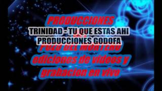 TU QUE ESTAS AHI - GRUPO TRINIDAD EDICION GODOFA thumbnail