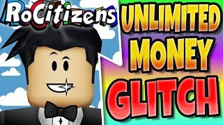 RoCitizens *NEW* Unlimited Money Glitch and Codes (Halloween Update Roblox)