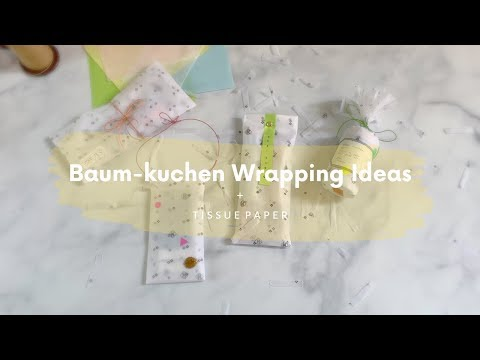 BK Wrapping Ideas // Tissue Paper