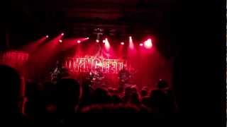 Dying Fetus - Fornication Terrorists (live in Stockholm, Sweden, Sep 29, 2012)