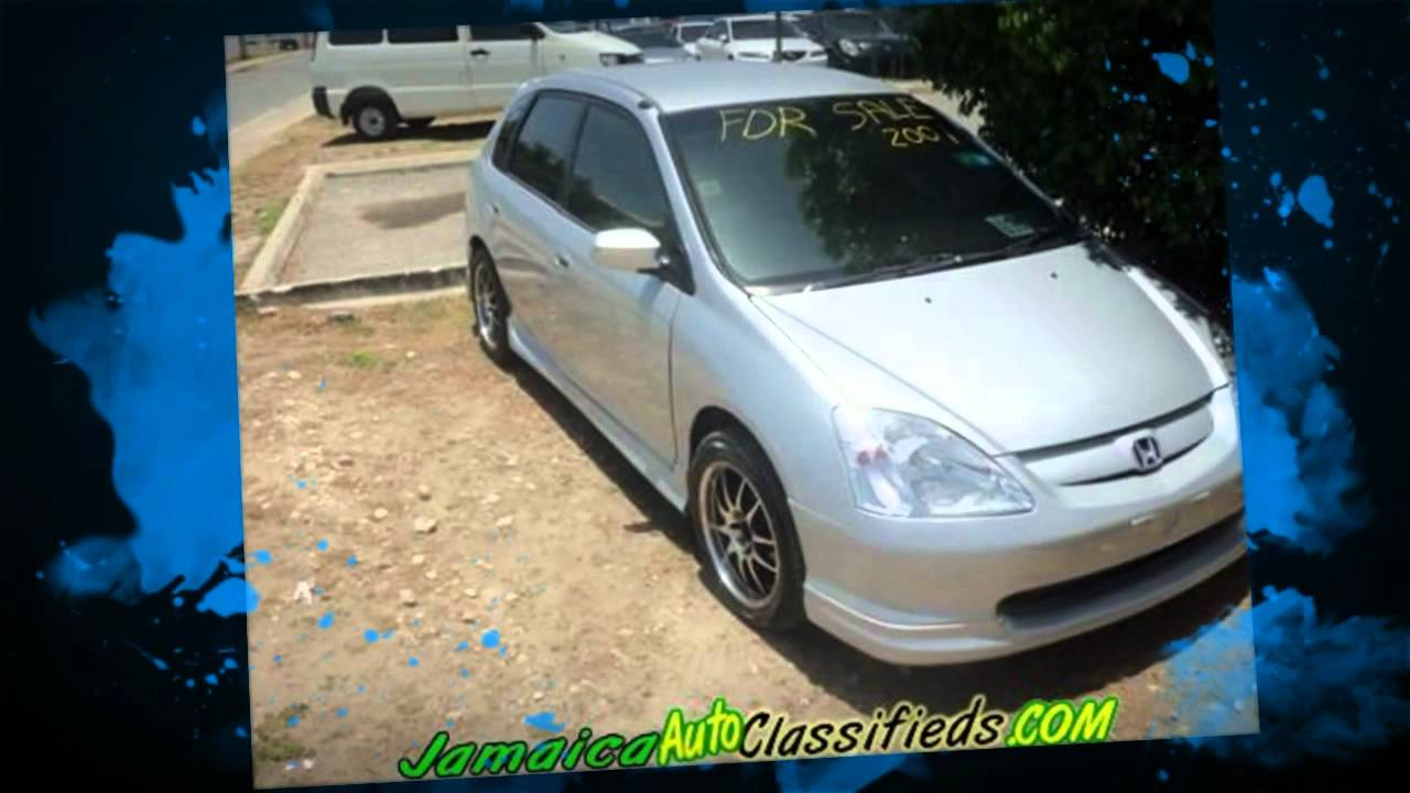 Cars In Jamaica - Honda Civic 2001 - YouTube