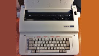Packard Bell PB10TX electronic typewriter