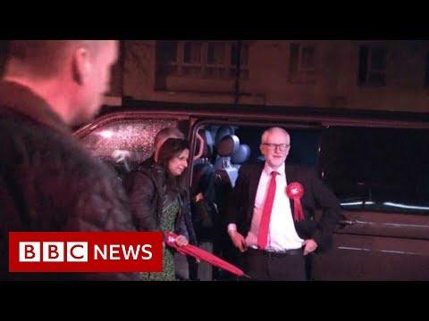 Jeremy Corbyn arrives