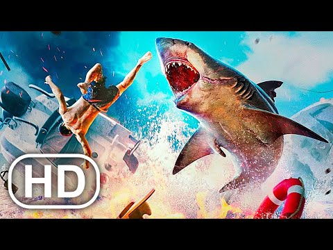 MANEATER All Cutscenes Full Movie (2020) HD Shark Action Game