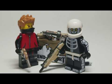 """""""Official"""" LEGO Fortnite Weapons! EclipseGrafx Defend-A-Fort Crate Review"""