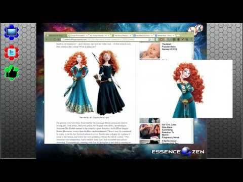 A Brave Reaction - Why Merida should not be changed!