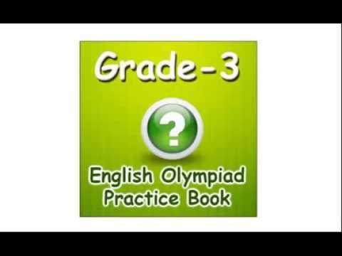 3rd class olympiad english practice quiz for kids