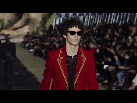 Saint Laurent Mens Fashion Show Spring Summer 2020 by Anthony Vaccarello