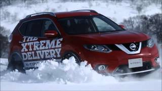 Nissan X-Trail. ЭКСТРЕМАЛЬНАЯ ДОСТАВКА ПИЦЦЫ НА СНОУБОРДЕ(, 2015-08-02T10:25:58.000Z)