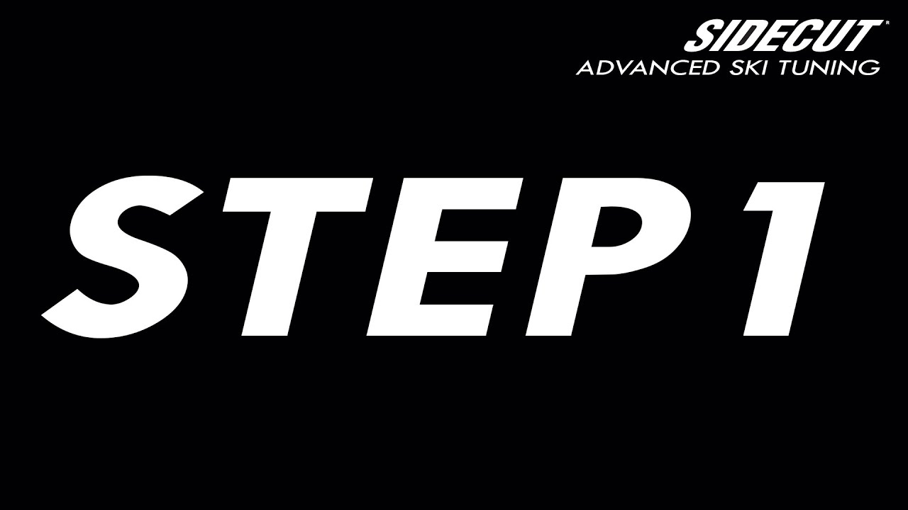 Ski Tuning Advanced - step 1