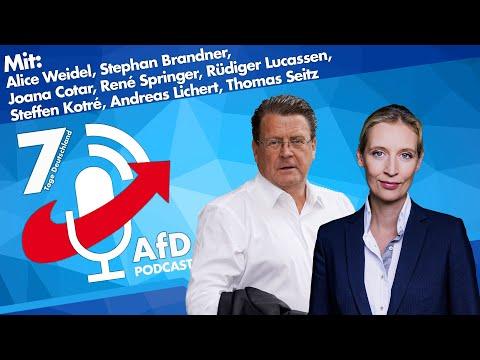 7 Tage Deutschland - der AfD Podcast vom 28.08.2020