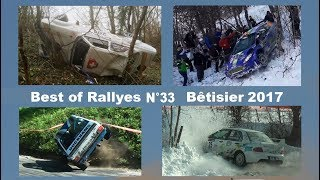 Best of Rallyes Crashes and Mistakes Bêtisier 2017