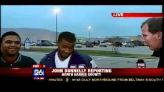 FOX 26 Houston Live Report On Air Jordan 11 Retro Concords Turns Ghetto Very Quick