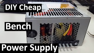 Low End Tech - DIY Cheap Bench Power Supply