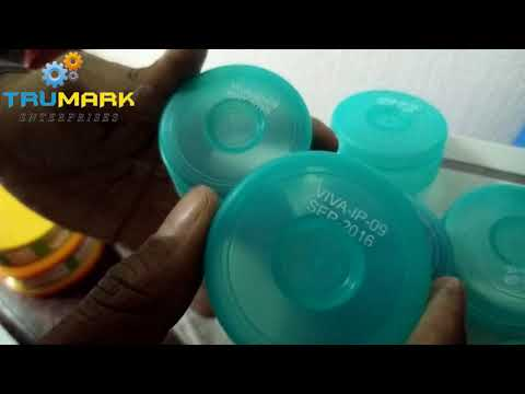 Semi auto pad printer,  mineral water jar cap printer