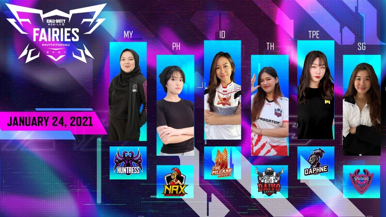 Fairies Invitational 2021 - Garena CODM