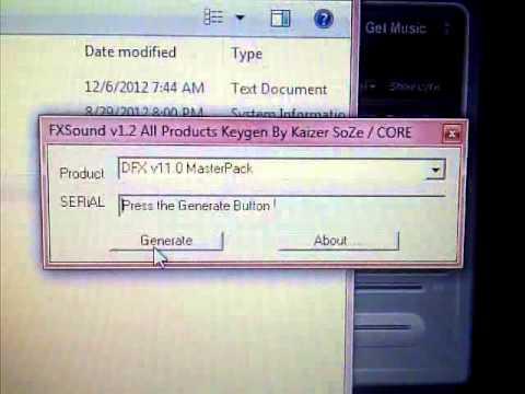 dfx audio enhancer 13 crack and serial key