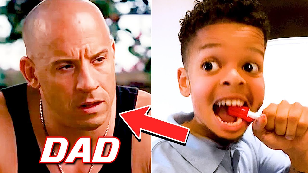 IF DOM TORETTO WAS YOUR DAD 😂 • Try not to laugh • #Shorts