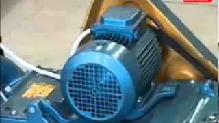 видео Шлифовальные машины по паркету : ПАРКЕТОШЛИФОВАЛЬНАЯ МАШИНА СО-206, 380В