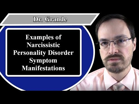 Examples Of Narcissistic Personality Disorder Symptom Manifestations