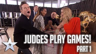 Judges play GAMES! Part 1 | Britain's Got More Talent