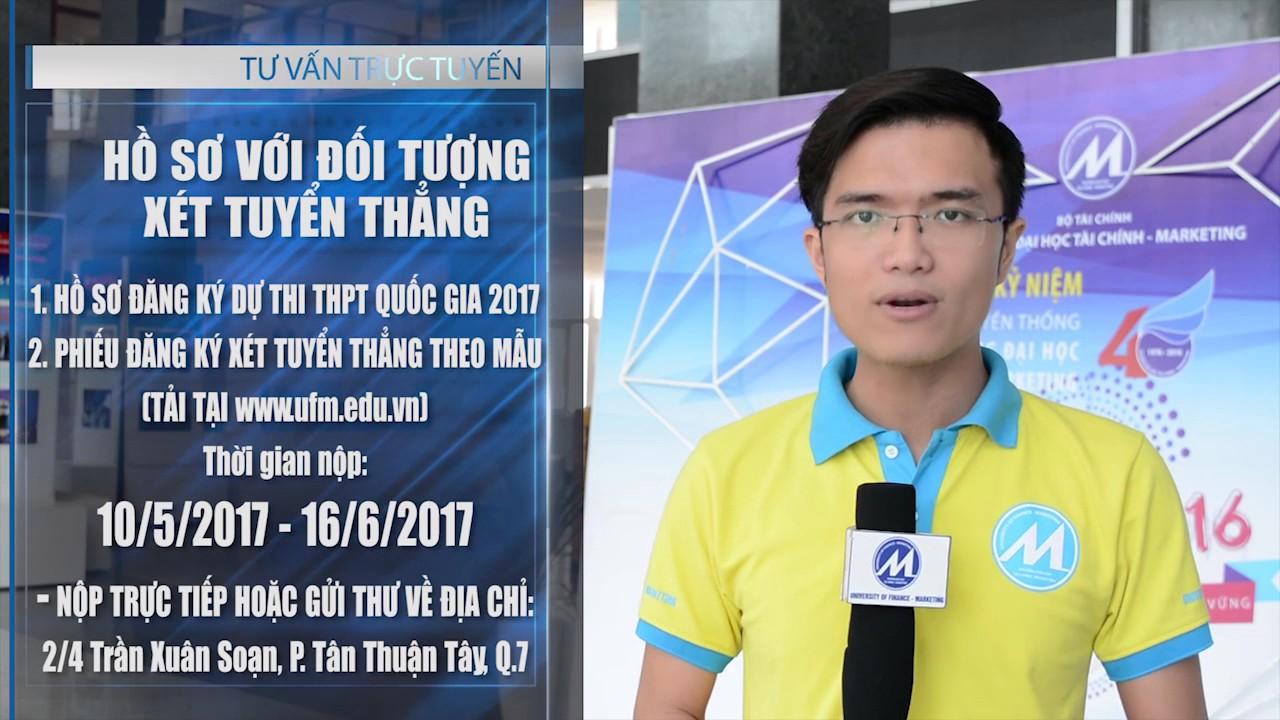 [Tuyển sinh 2017] Giải đáp nhanh Mã ngành, Mã trường, Hồ sơ xét tuyển của UFM