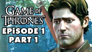 Game of Thrones - Telltale Games - Episode 1: Iron from Ice - Gameplay Walkthrough Part 1 (PC)