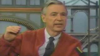 Mister Rogers on The Rosie O