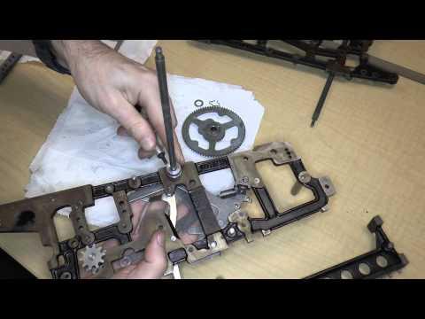 Disassembling a 1920s Monroe model K mechanical calculator, part 21