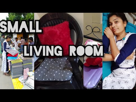 Small Living Room Organising/100 Rupees Sofa Ready/New Creation 21.5