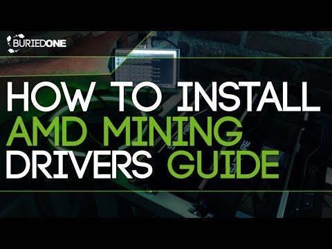 How To Install AMD Mining Drivers Guide