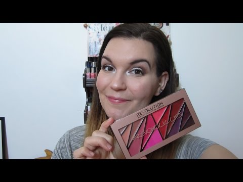 Makeup Revolutions Revoholic Lips Palette First Impressions