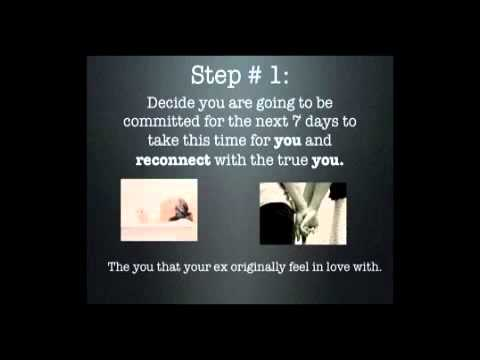 3 Steps To Get Your Ex Back NOW