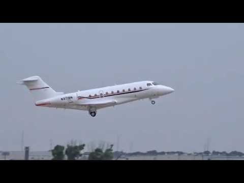 Gulfstream 280 Taking Off from Rick Husband Intl' Airport in Amarillo