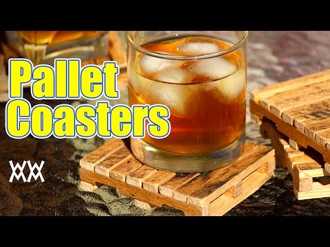 Pallet Drink Coasters Made From Well Pallets Easy To Make YouTube - Coasters made from photos