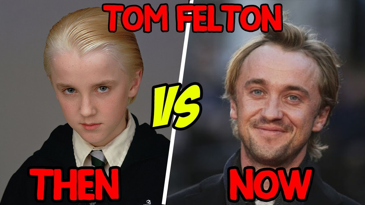 Then vs Now | Tom Felton | Draco Malfoy in Harry Potter ...