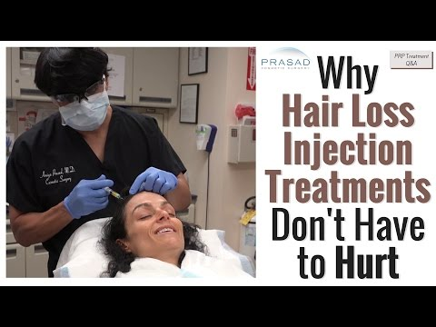 Why Hair Loss Injection Treatments Don't Have to Hurt, and Better Results than PRP Alone