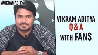 Vikram Aditya LIVE | Nanditha Vasudev Full Movie | Q  A With Fans | NanditaVasudev