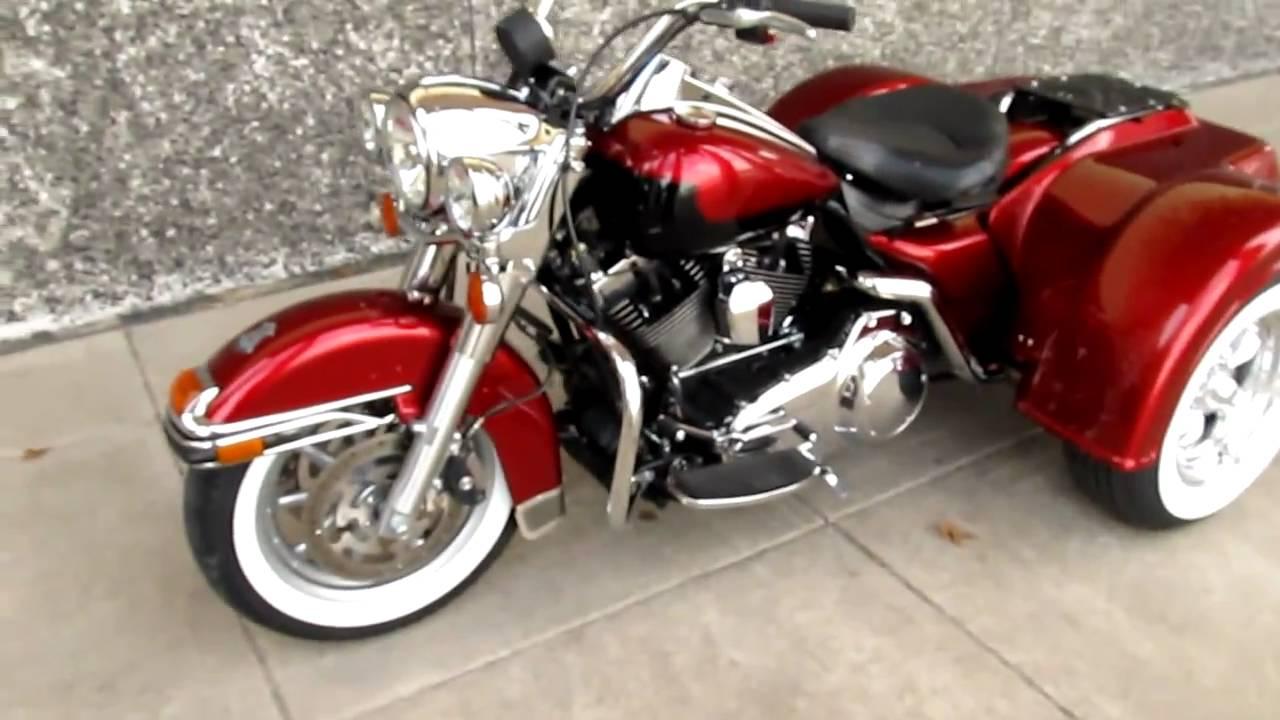 Harley Davidson Police Trike 103 Motor For Sale Youtube
